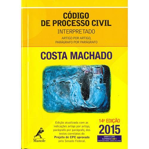 Livro - Código de Processo Civil Interpretado - 2015