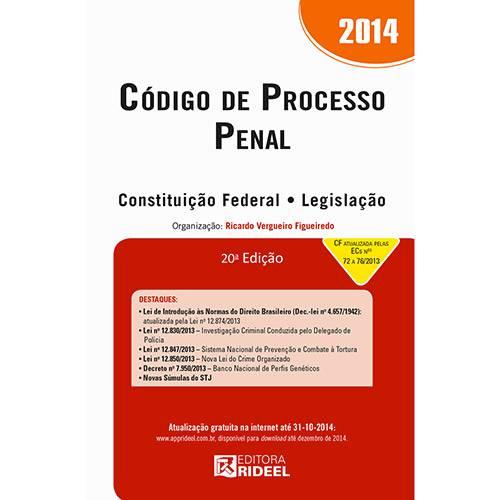 Livro - Código de Processo Penal 2014