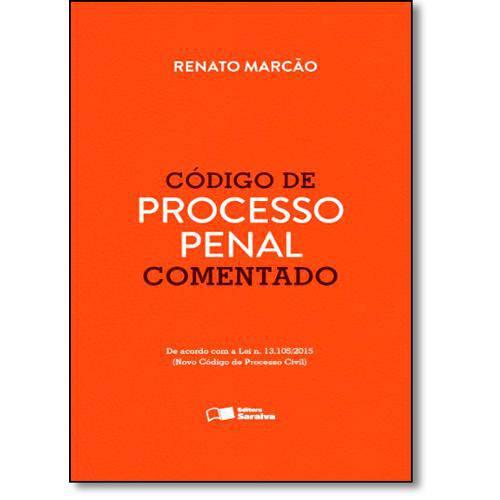 Livro - Código de Processo Penal - Comentado