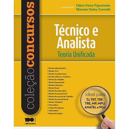 Livro - Coleção Concursos - Técnico e Analista: Teoria Unificada