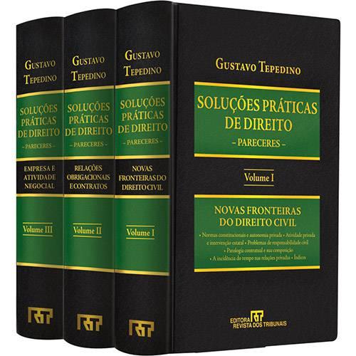Livro - Coleção Soluções Práticas de Direito - 3 Volumes