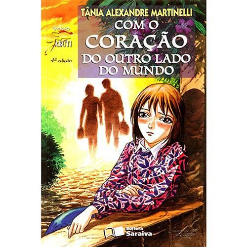 Livro - com o Coração do Outro Lado do Mundo - Coleção Jabuti