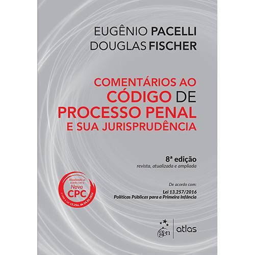 Livro - Comentário ao Código de Processo Penal e Sua Jurisprudência
