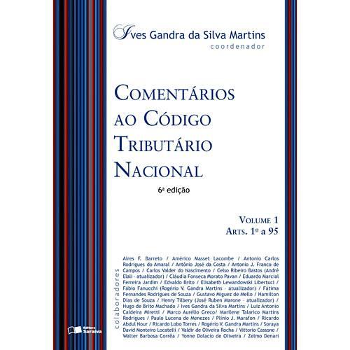 Livro - Comentários ao Código Tributário Nacional - Volumes 1 e 2