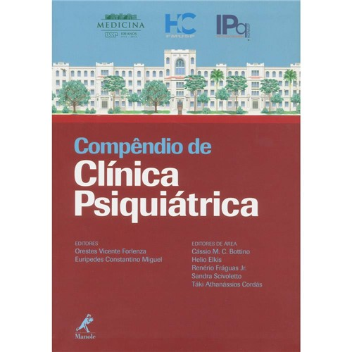 Livro - Compêndio de Clínica Psiquiátrica