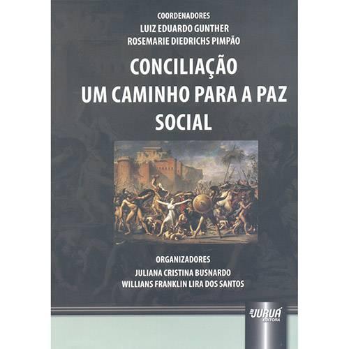 Livro - Conciliação um Caminho para a Paz Social