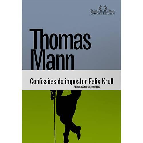 Livro - Confissões do Impostor Felix Krull