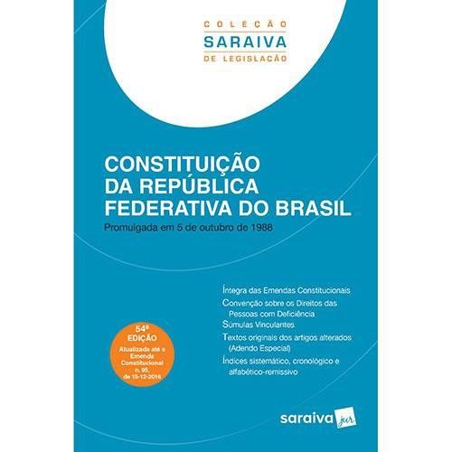 Livro - Constituição da República Federativa do Brasil