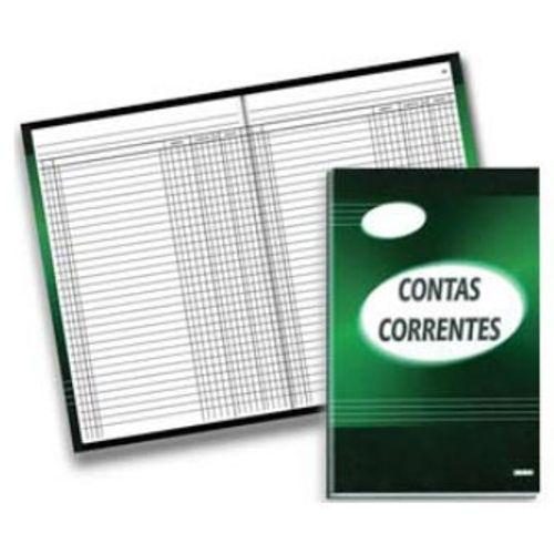 Livro Conta Corrente 50 Folhas São Domingos 130647