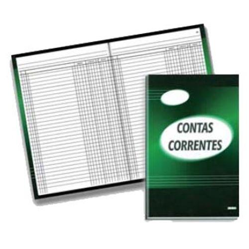 Livro Conta Corrente1/4 100 Folhas São Domingos 130638