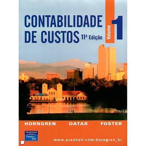 Livro - Contabilidade de Custos, V.1