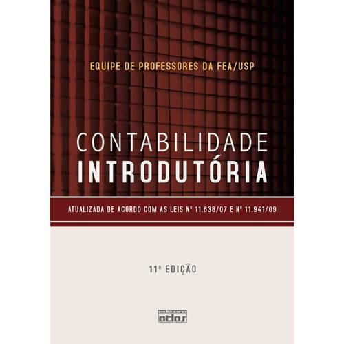Livro - Contabilidade Introdutória 11ª Edição (Livro-Texto)