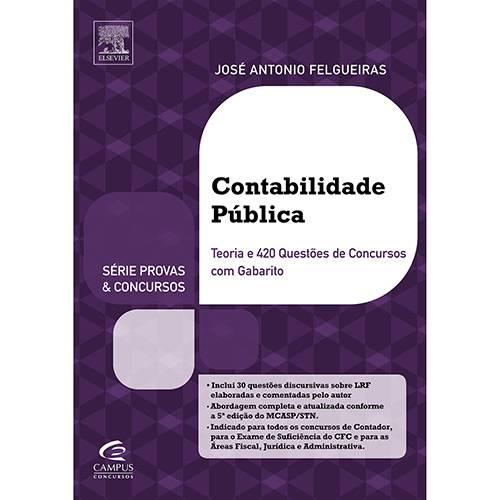 Livro - Contabilidade Pública: Série Provas & Concursos