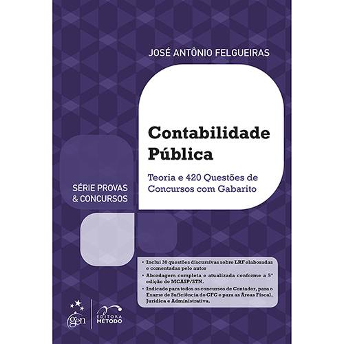 Livro - Contabilidade Pública - Série Provas e Concursos