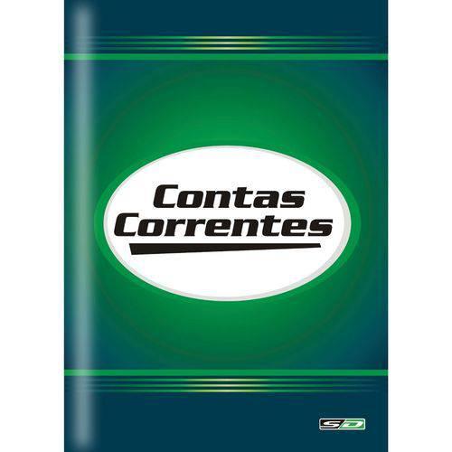 Livro Contas Correntes 1/4 50 Fls S.d