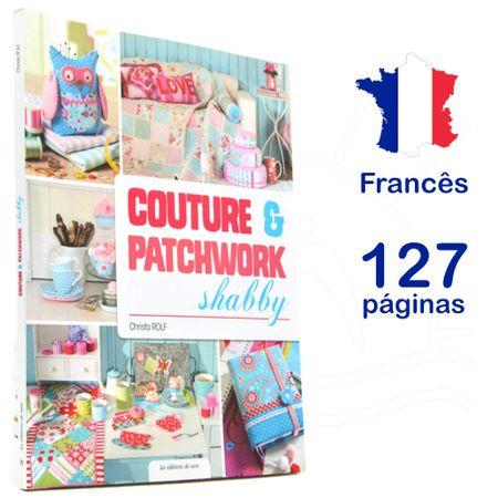 Livro Couture & Patchwork Shabby
