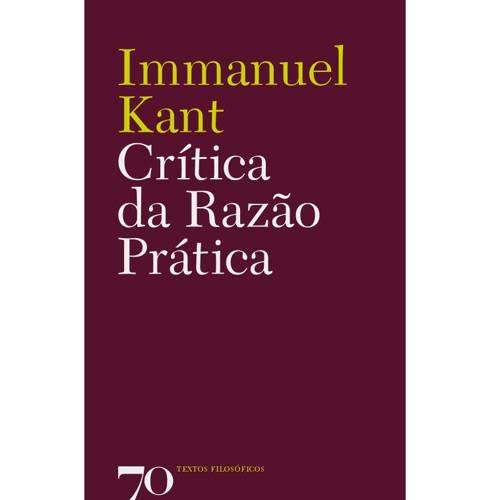Livro - Crítica da Razão Prática