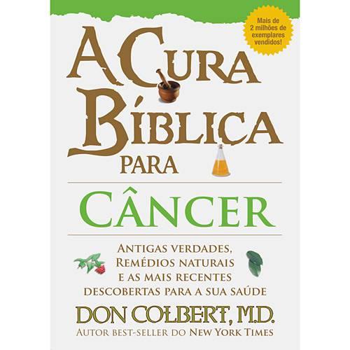 Livro - Cura Bíblica para Câncer, a