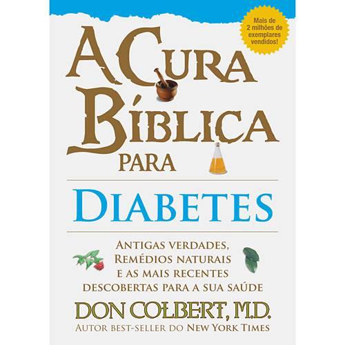 Livro - Cura Bíblica para Diabetes, a