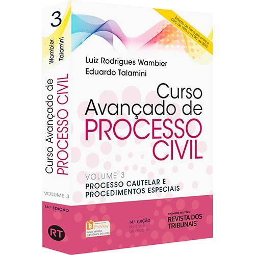 Livro - Curso Avançado de Processo Civil (Vol. 3)