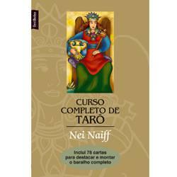 Livro - Curso Completo de Tarô - 78 Cartas no Encarte - Edição de Bolso
