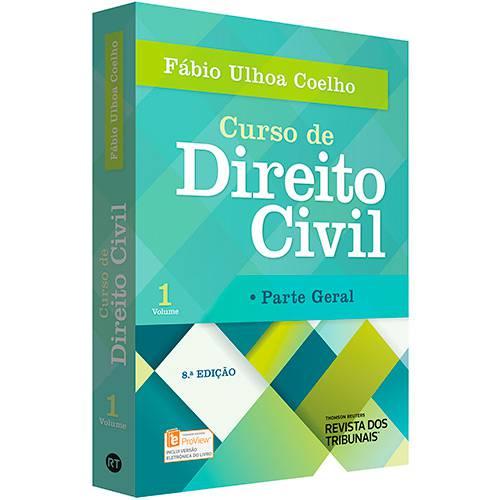 Livro - Curso de Direito Civil: Parte Geral - Vol. 1