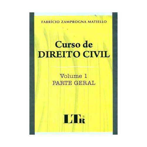 Livro - Curso de Direito Civil - Volume 1