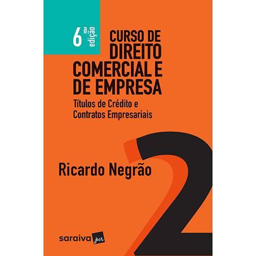 Livro - Curso de Direito Comercial e de Empresa 2