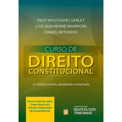 Livro - Curso de Direito Constitucional