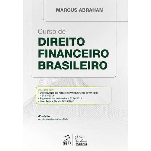 Livro - Curso de Direito Financeiro Brasileiro