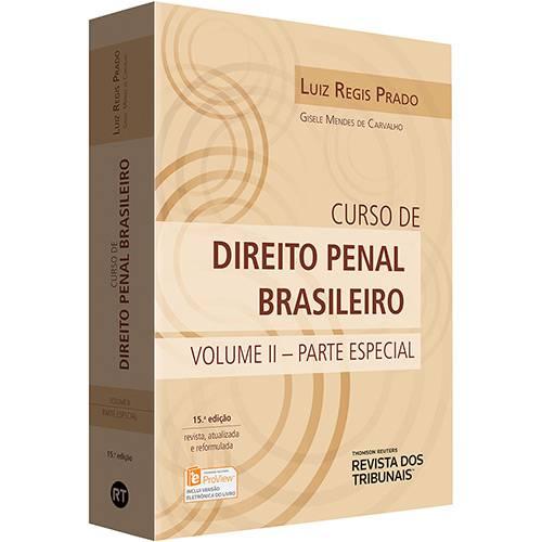 Livro - Curso de Direito Penal Brasileiro: Parte Especial