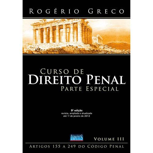 Livro - Curso de Direito Penal: Parte Especial - Vol. 3