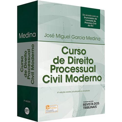 Livro - Curso de Direito Processual Civil Moderno