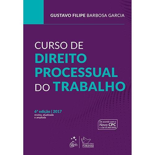 Livro - Curso de Direito Processual do Trabalho