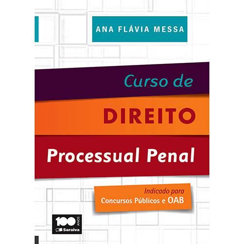 Livro - Curso de Direito Processual Penal