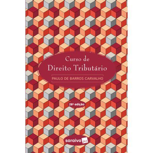 Livro - Curso de Direito Tributário - Carvalho
