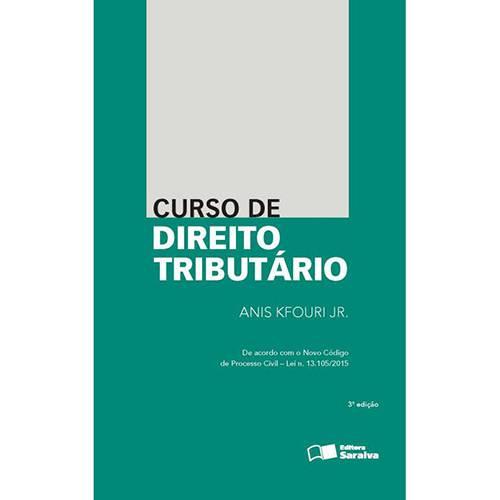 Livro - Curso de Direito Tributário