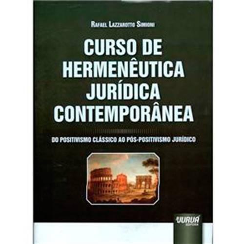 Livro - Curso de Hermenêutica Jurídica Contemporânea