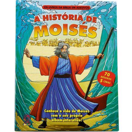 Livro da Bíblia em Adesivo a História de Moisés