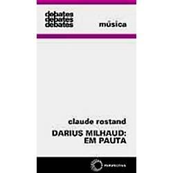 Livro - Darius Milhaud em Pauta