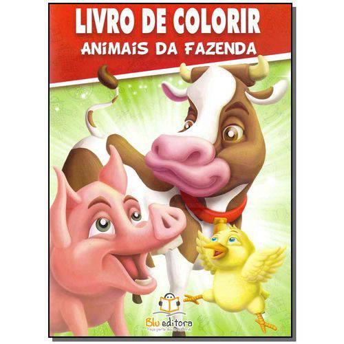 Livro de Colorir - Animais da Fazenda