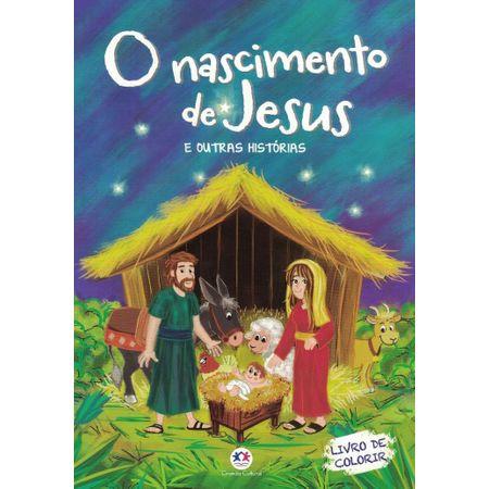 Livro de Colorir - o Nascimento de Jesus