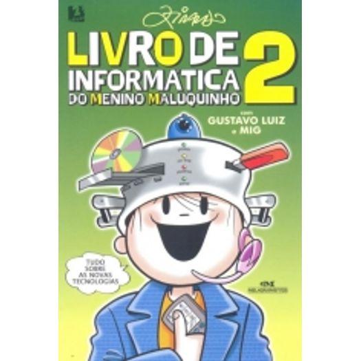 Livro de Informatica do Menino Maluquinho 2 - Melhoramentos