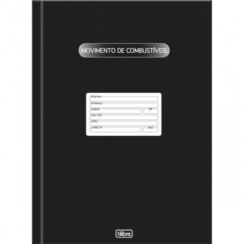 Livro de Movimentação de Combustíveis Capa Dura - 100 Folhas 124508