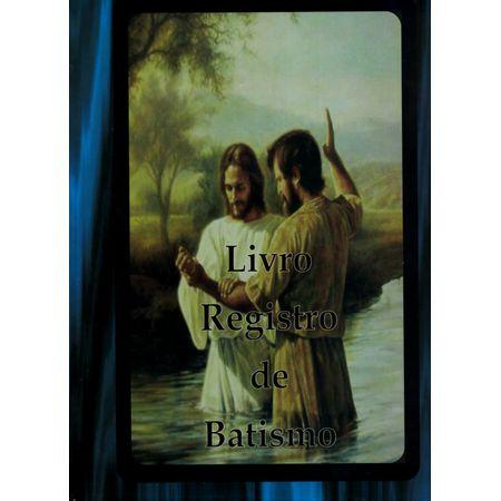 Livro de Registro de Batismo