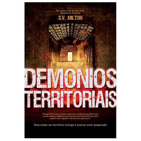 Livro Demônios Territoriais