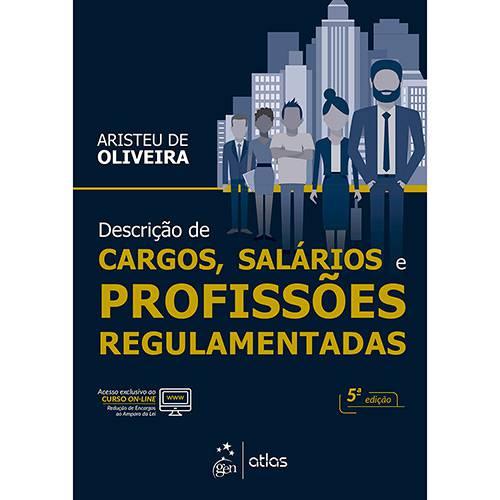 Livro - Descrição de Cargos, Salários e Profissões Regulamentadas