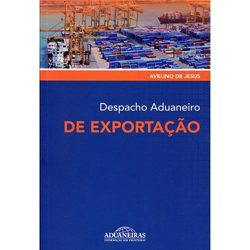 Livro - Despacho Aduaneiro de Exportação