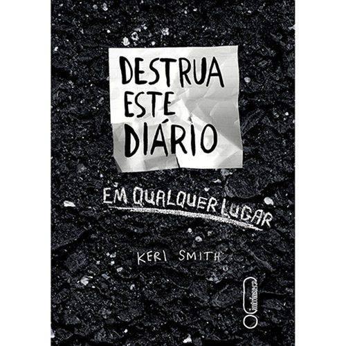 Livro - Destrua Este Diario em Qualquer Lugar