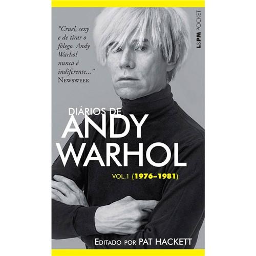 Livro - Diários de Andy Warhol (1976-1981) - Vol. 1